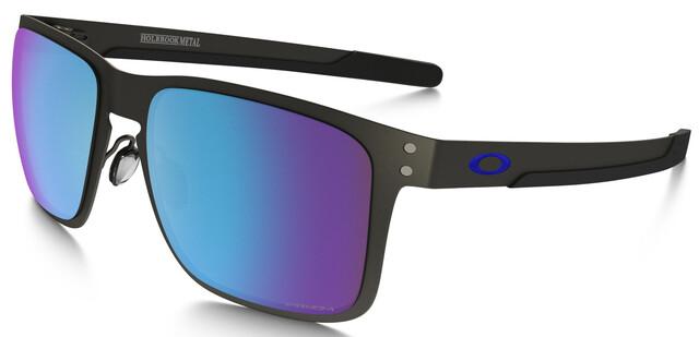 Oakley Holbrook Metal Glasses matte gunmetalprizm sapphire polarized